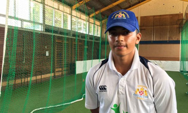 Akash Gill: The Canadian cricketer's Whanganui summer